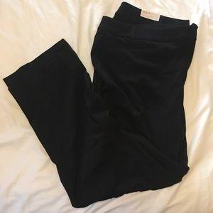 Torrid 24L The Allie Straight Black dress pants